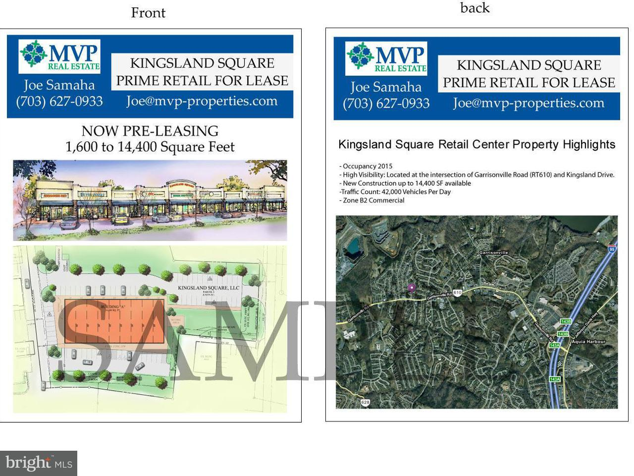 Commercial for Sale at 0 Garrisonville Stafford, Virginia 22554 United States