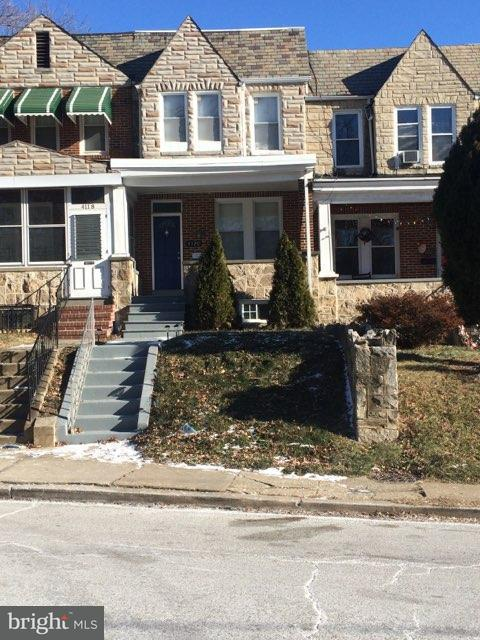 Single Family for Sale at 4120 Parkside Dr Baltimore, Maryland 21206 United States
