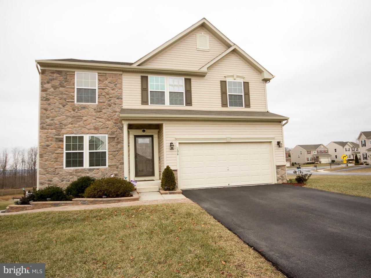 Частный односемейный дом для того Продажа на 206 Chimney Oak Drive 206 Chimney Oak Drive Joppa, Мэриленд 21085 Соединенные Штаты