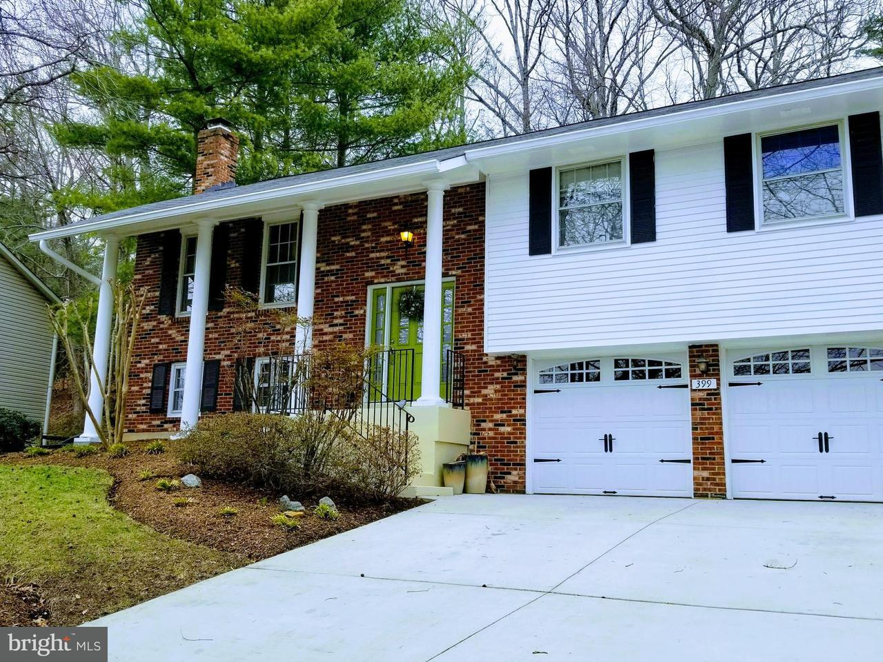 Single Family Home for Sale at 399 Westbury Drive 399 Westbury Drive Riva, Maryland 21140 United States