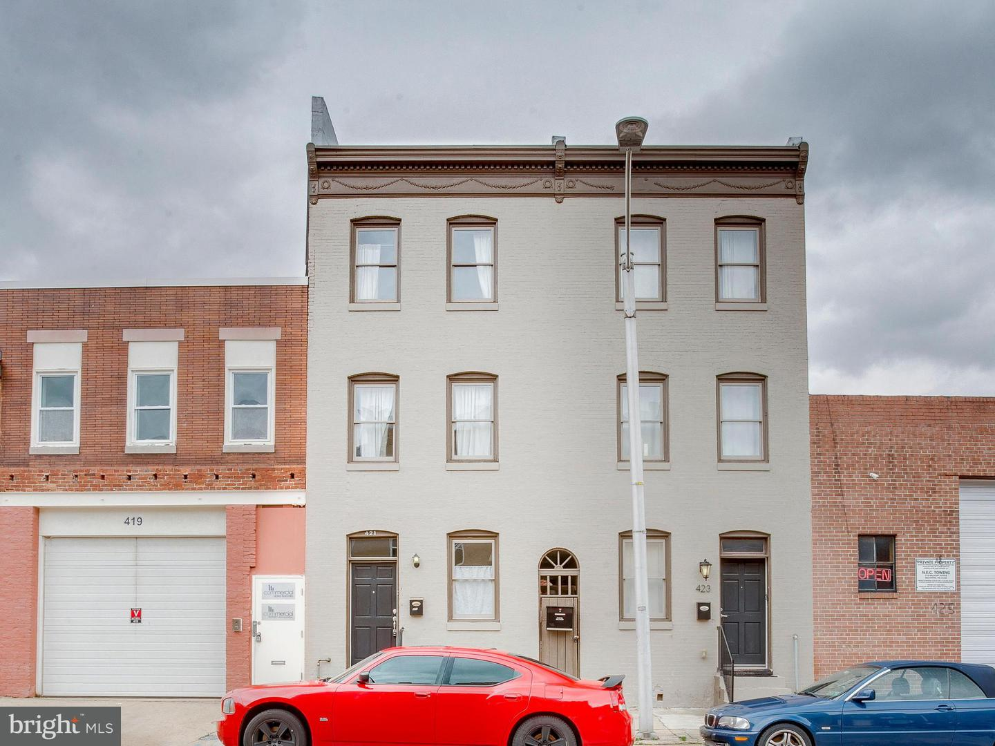Other Residential for Rent at 421 Bond St S Baltimore, Maryland 21231 United States