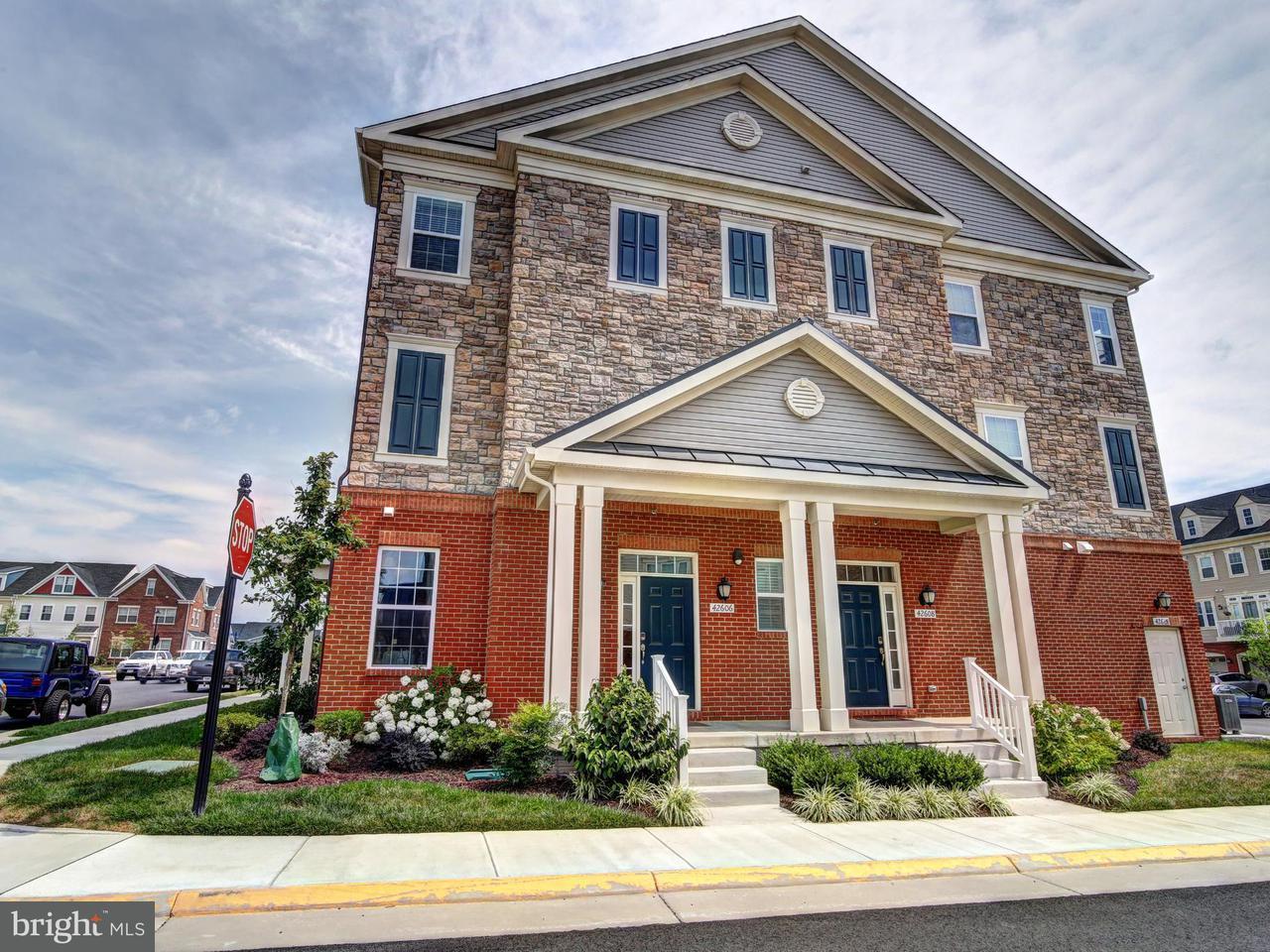 Condominium for Rent at 42606 Capitol View Ter Broadlands, Virginia 20148 United States