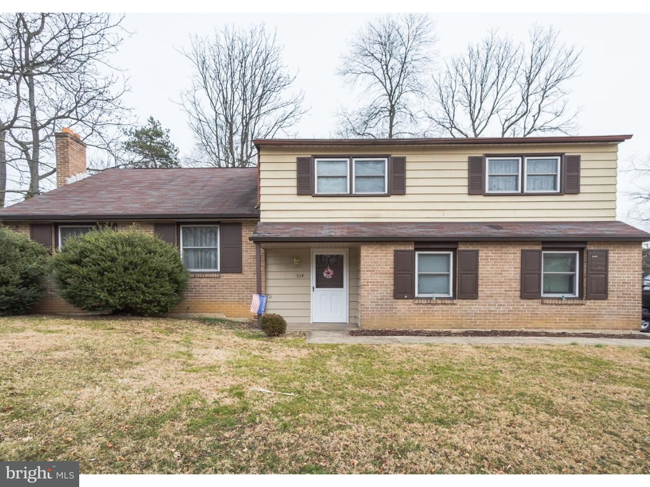 Single Family Home for Sale at 514 W BROOKHAVEN Road Wallingford, Pennsylvania 19086 United States