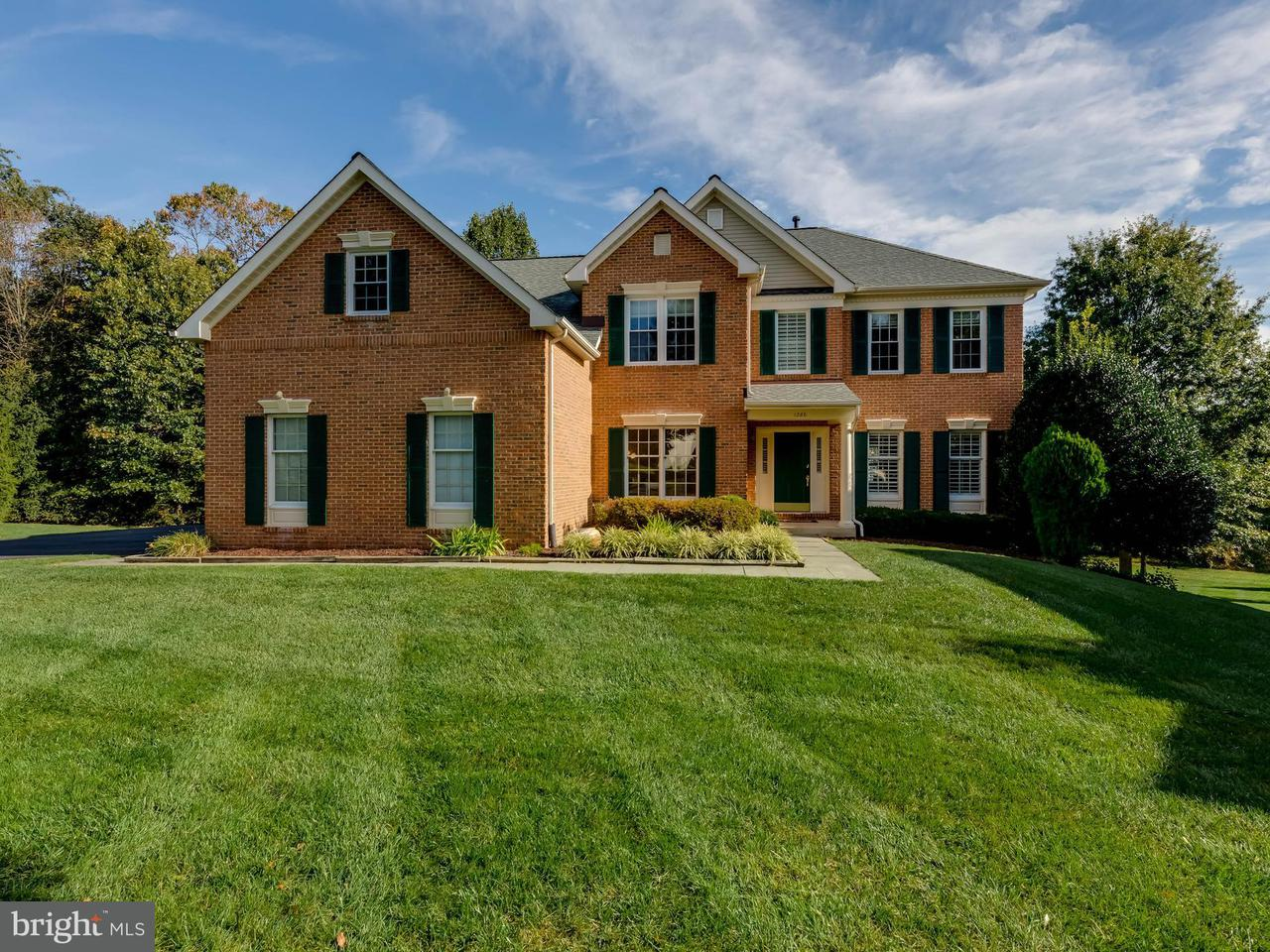 Maison unifamiliale pour l Vente à 1286 Gatesmeadow Way 1286 Gatesmeadow Way Reston, Virginia 20194 États-Unis