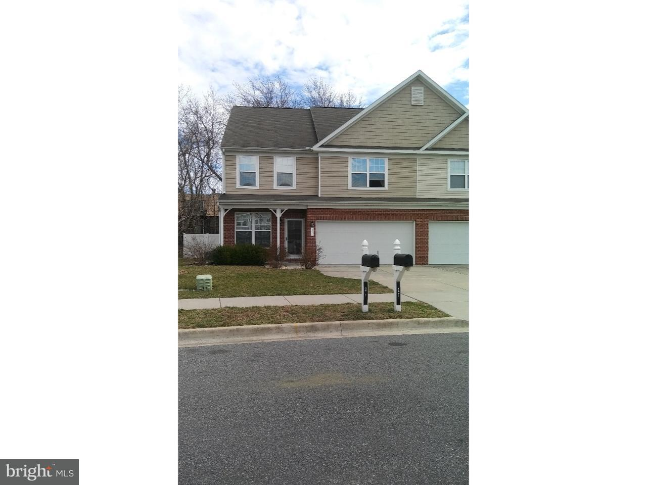 Townhouse for Rent at 31 MER WAY Dover, Delaware 19901 United States