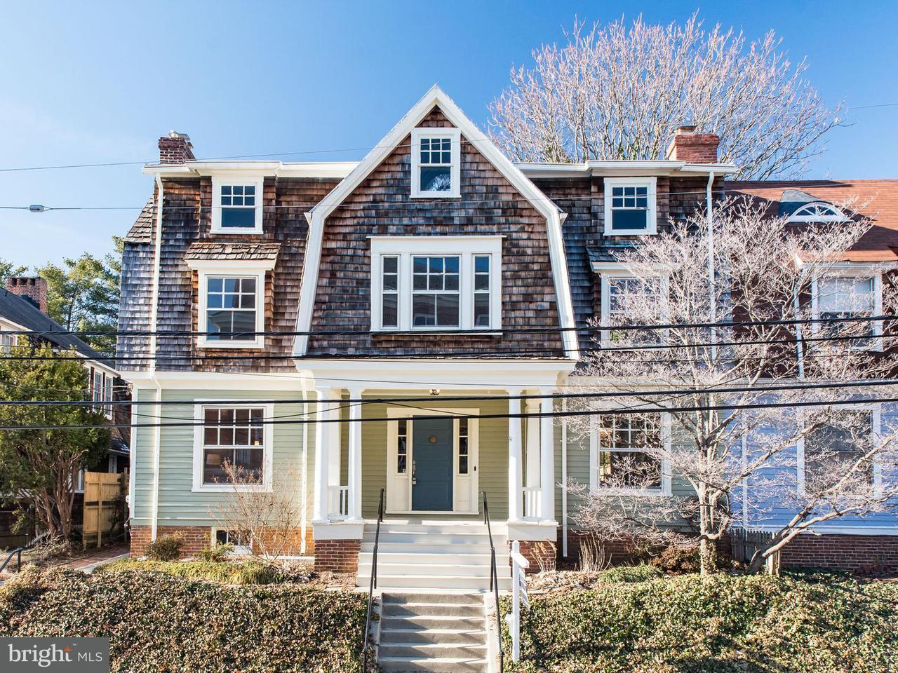 Townhouse for Sale at 63 Franklin Street 63 Franklin Street Annapolis, Maryland 21401 United States