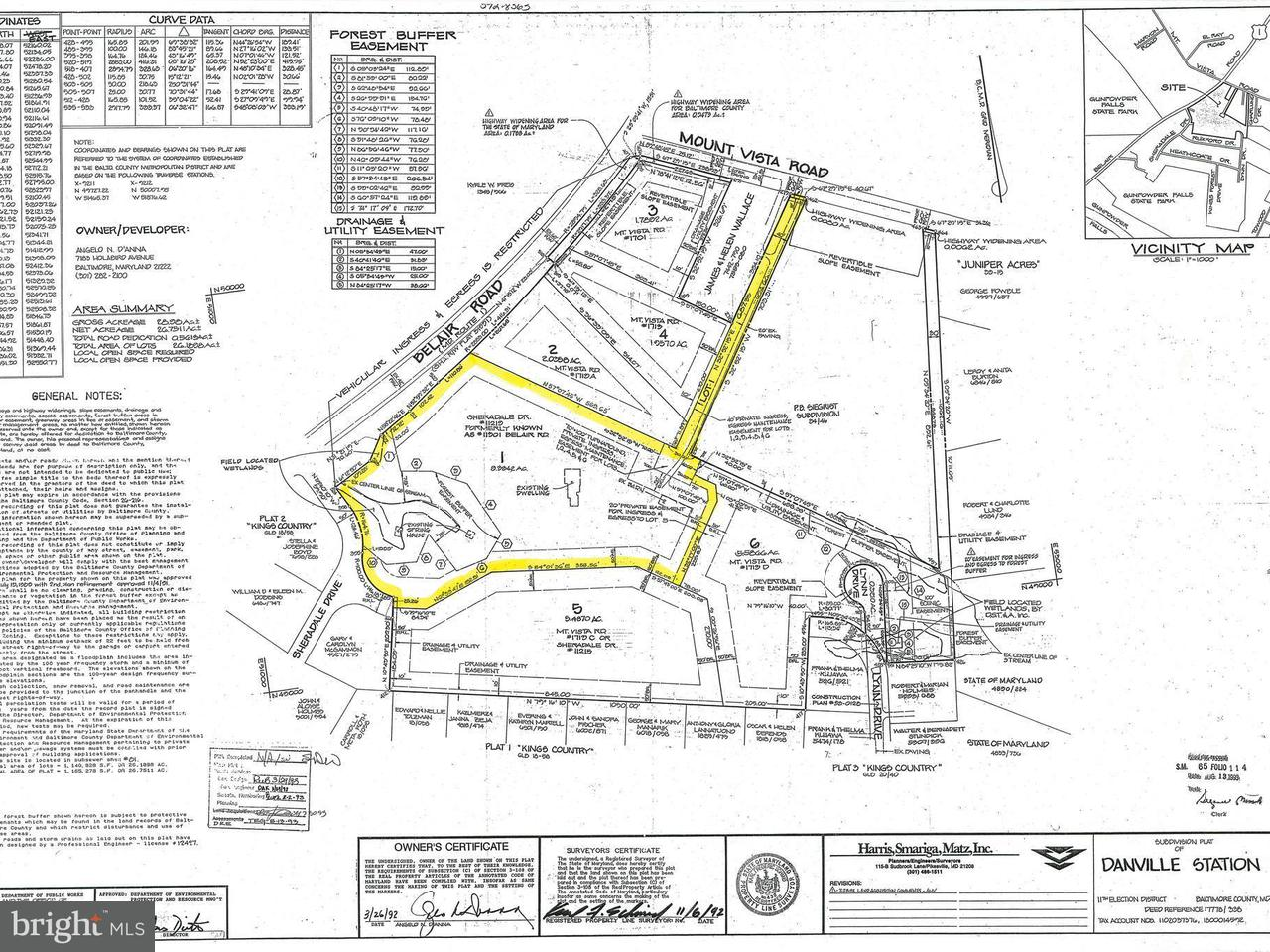 Land for Sale at 11219 Sheradale Drive 11219 Sheradale Drive Kingsville, Maryland 21087 United States