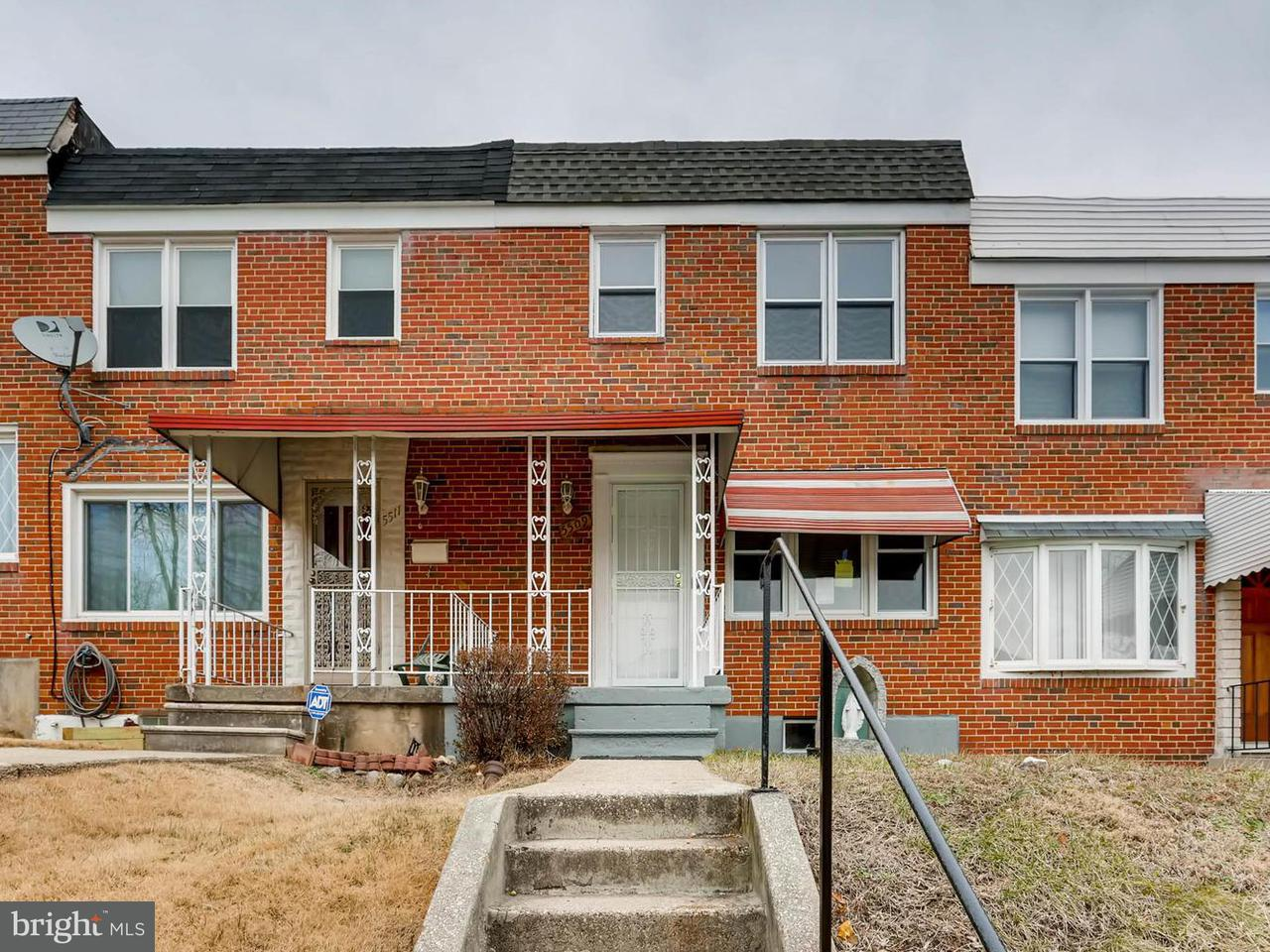 Single Family for Sale at 5509 Whitwood Rd Baltimore, Maryland 21206 United States