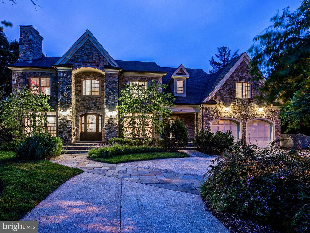 Single Family for Sale at 5214 Oakland Rd Chevy Chase, Maryland 20815 United States