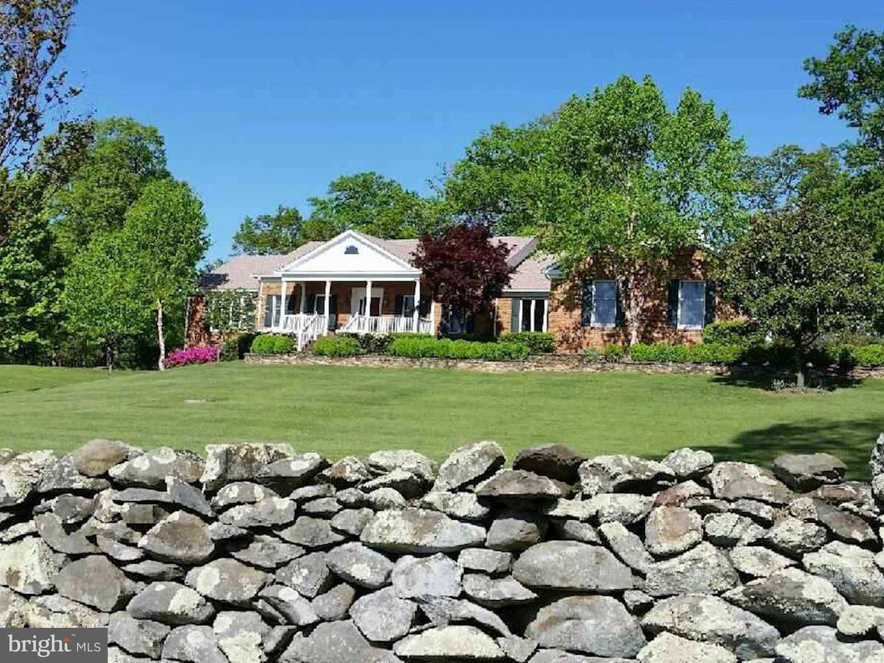 Maison unifamiliale pour l Vente à 1310 Delaplane Grade Road 1310 Delaplane Grade Road Upperville, Virginia 20184 États-Unis