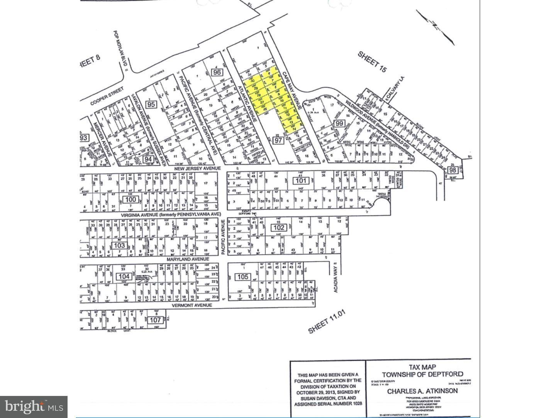 Property voor Verkoop op 23 CAPE MAY Avenue Deptford Township, New Jersey 08096 Verenigde Staten