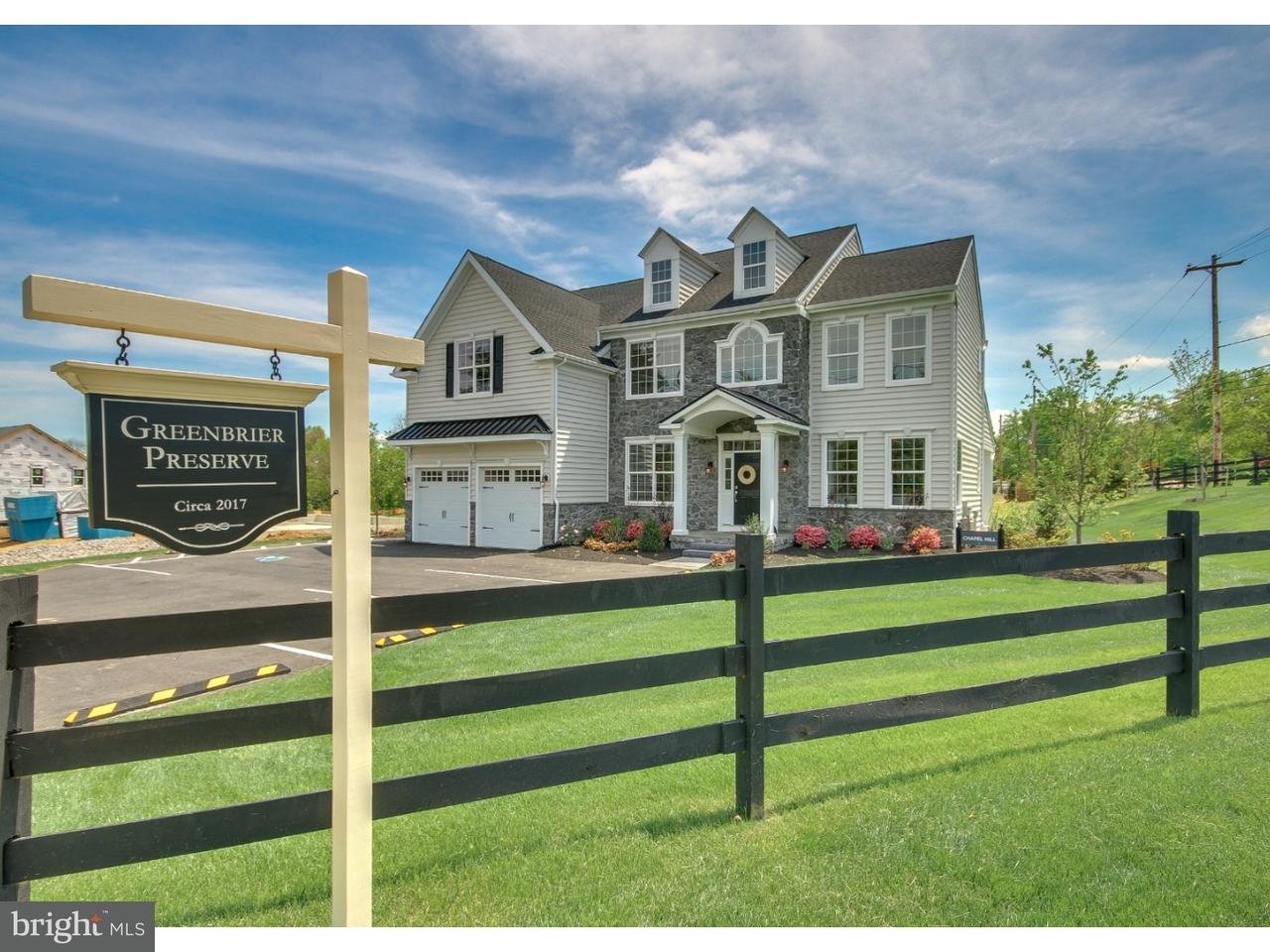 Casa Unifamiliar por un Venta en LOT #4 BENNETT Lane Wrightstown, Pennsylvania 18940 Estados Unidos