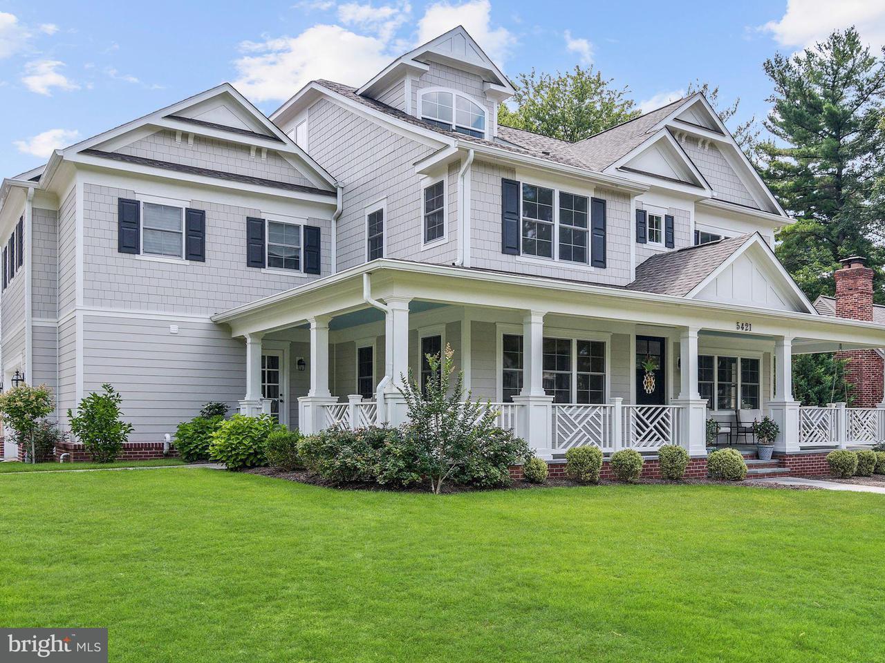 Maison unifamiliale pour l Vente à 5421 Albia Road 5421 Albia Road Bethesda, Maryland 20816 États-Unis