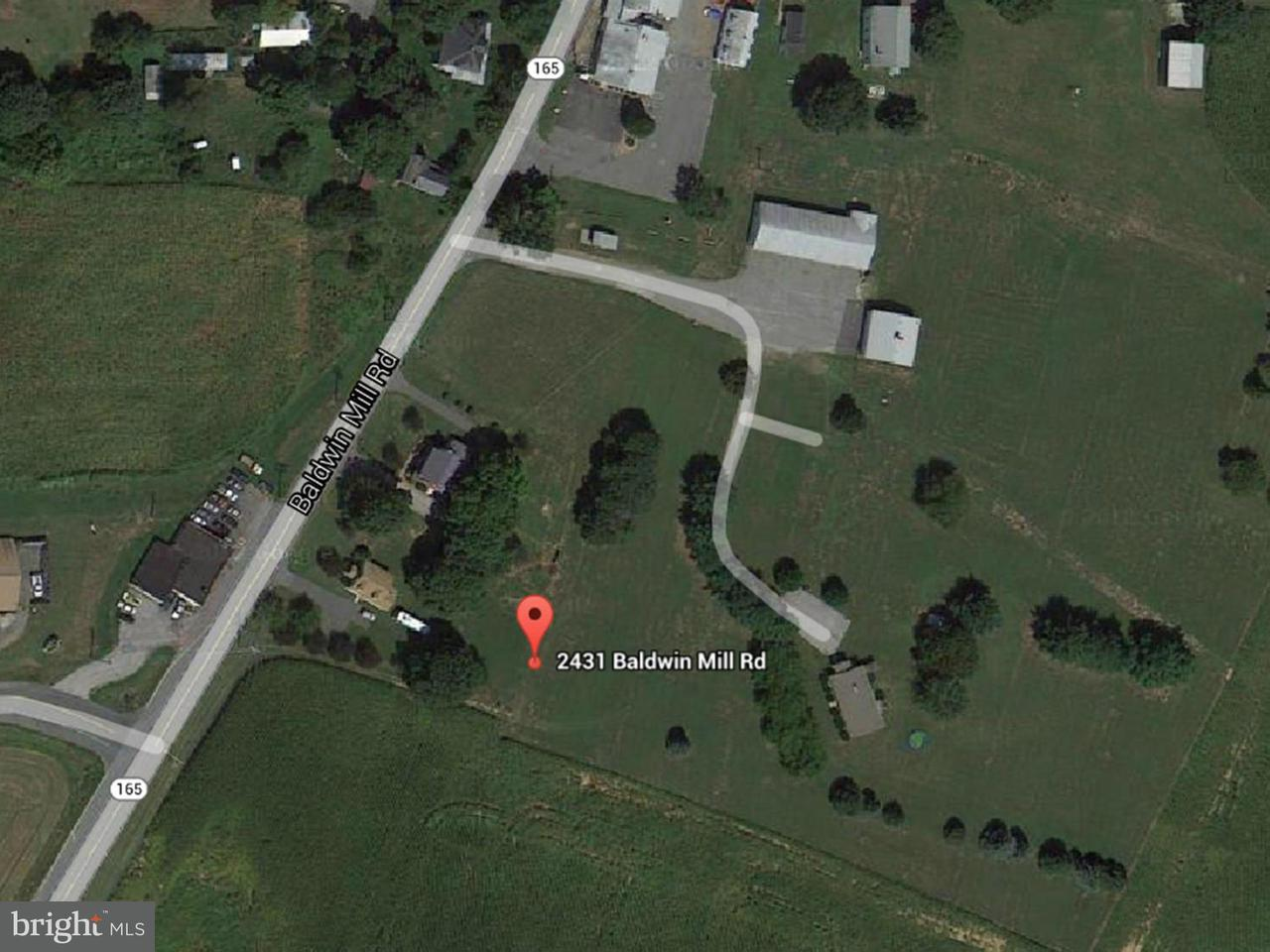 Land for Sale at 2431 Baldwin Mill Rd Fallston, Maryland 21047 United States