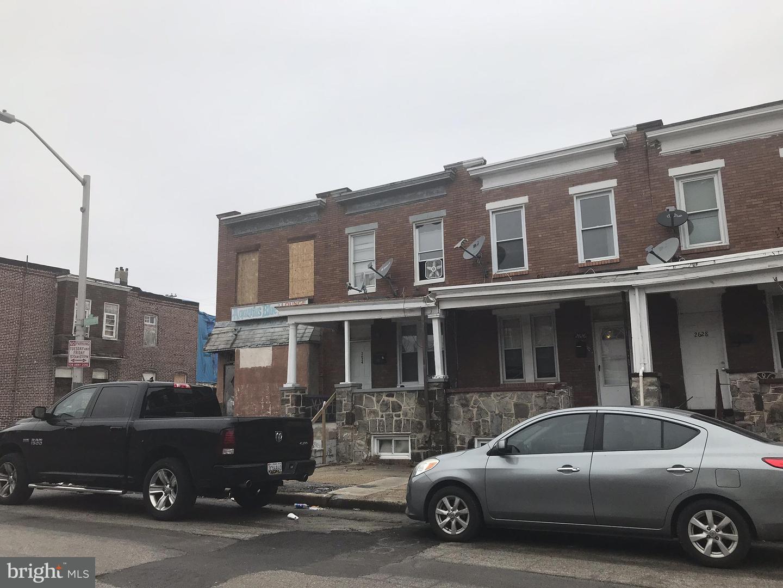Single Family for Sale at 2624 Ashland Ave Baltimore, Maryland 21205 United States