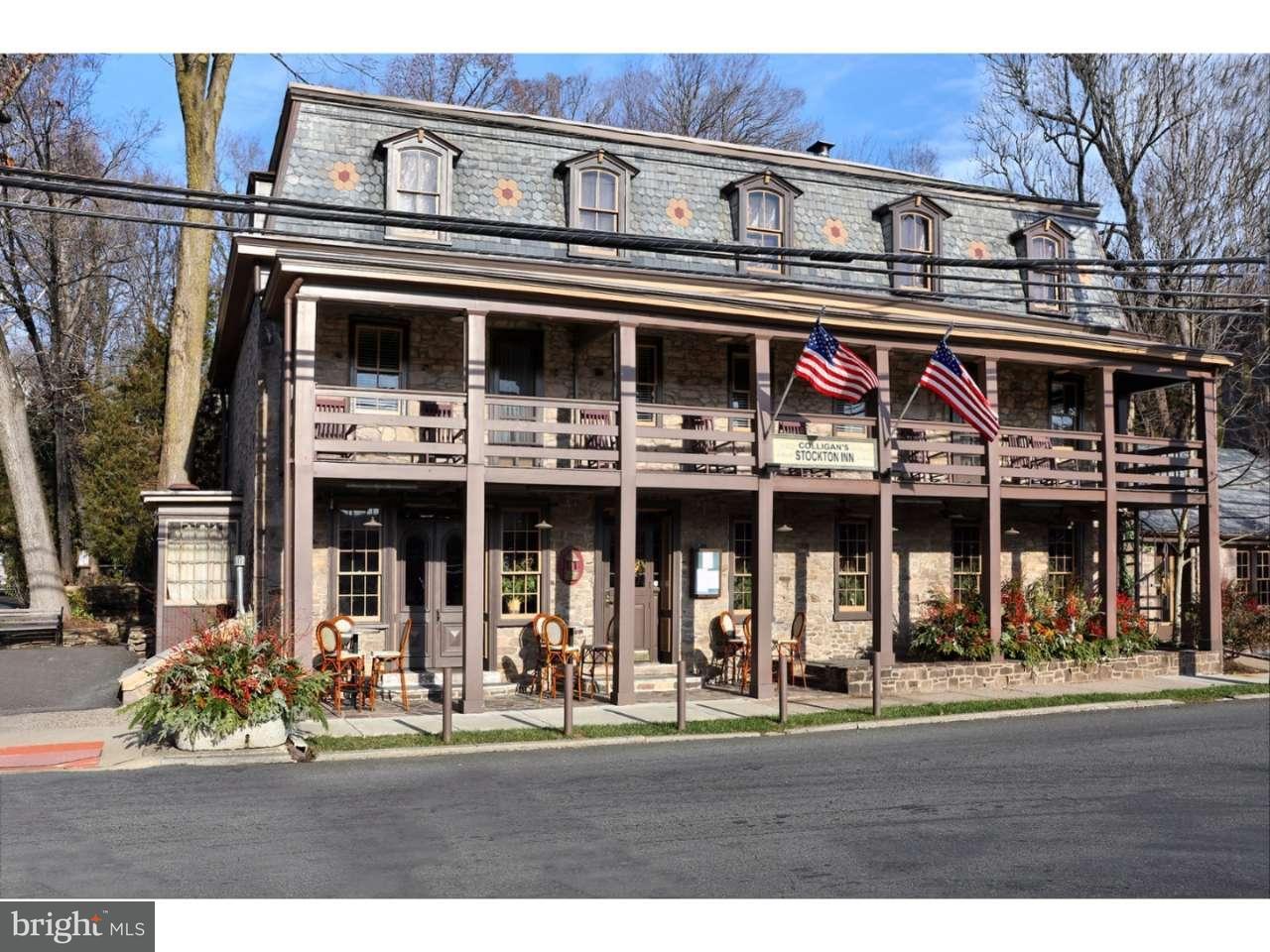 Casa Unifamiliar por un Venta en 1 N MAIN Street Stockton, Nueva Jersey 08559 Estados UnidosEn/Alrededor: Stockton
