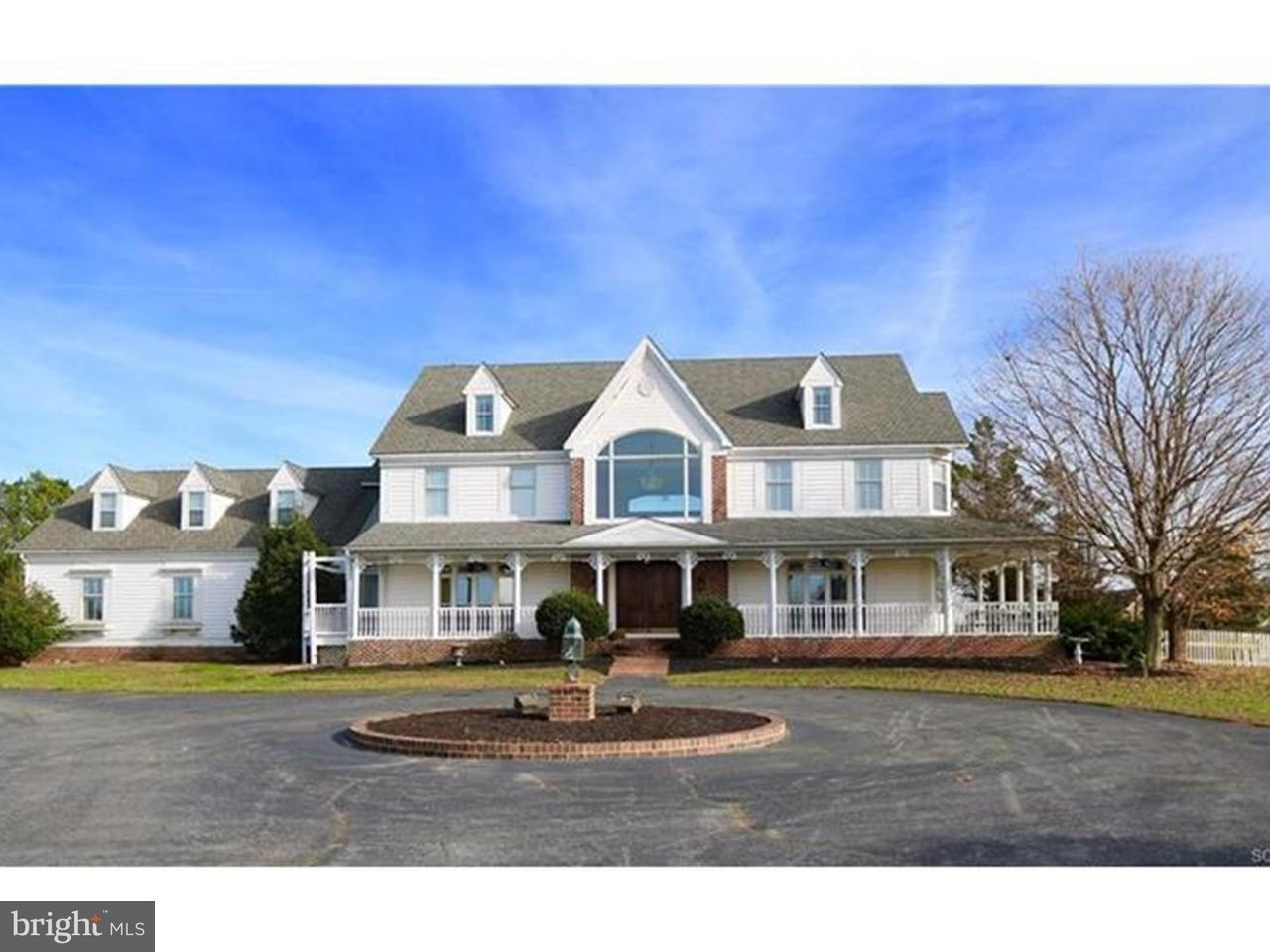 Maison unifamiliale pour l Vente à 11339 SUSSEX HWY Greenwood, Delaware 19950 États-Unis
