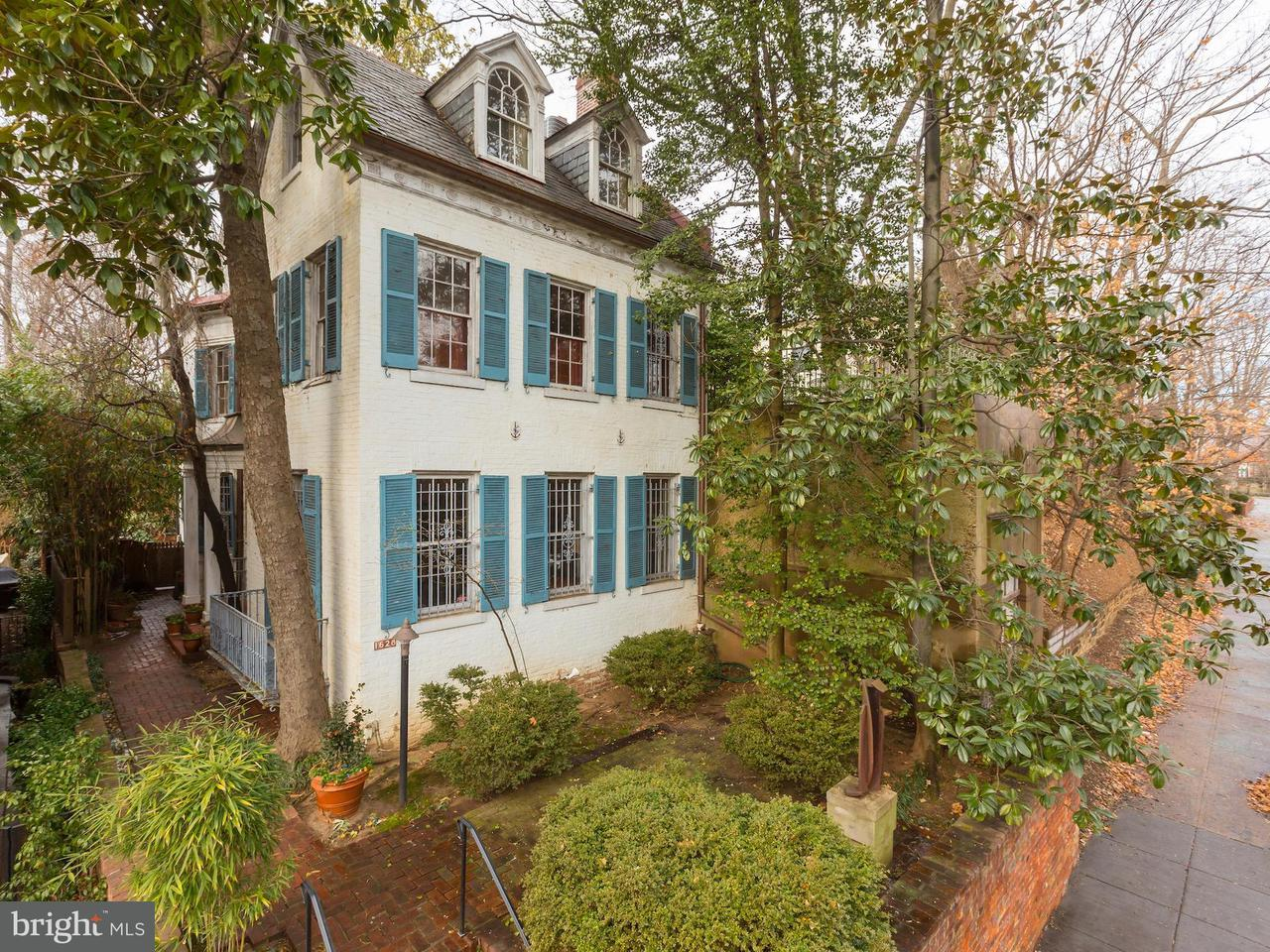 Single Family for Sale at 1628 29th St NW Washington, District Of Columbia 20007 United States