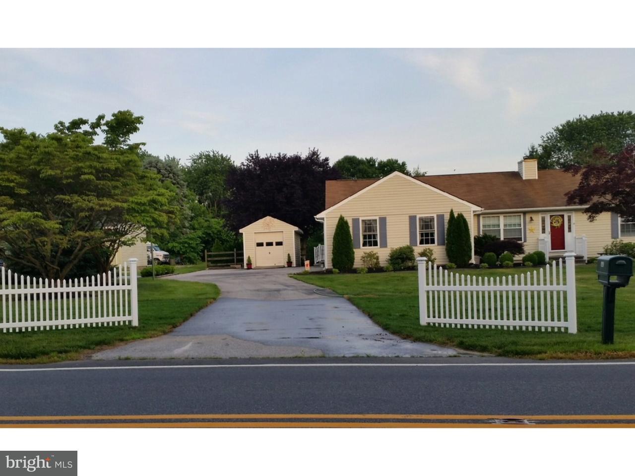 Частный односемейный дом для того Продажа на 140 THOMAS LANDING Road Townsend, Делавэр 19709 Соединенные Штаты