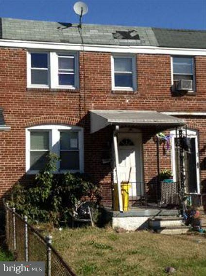 Single Family for Sale at 232 Edgevale Rd Baltimore, Maryland 21225 United States