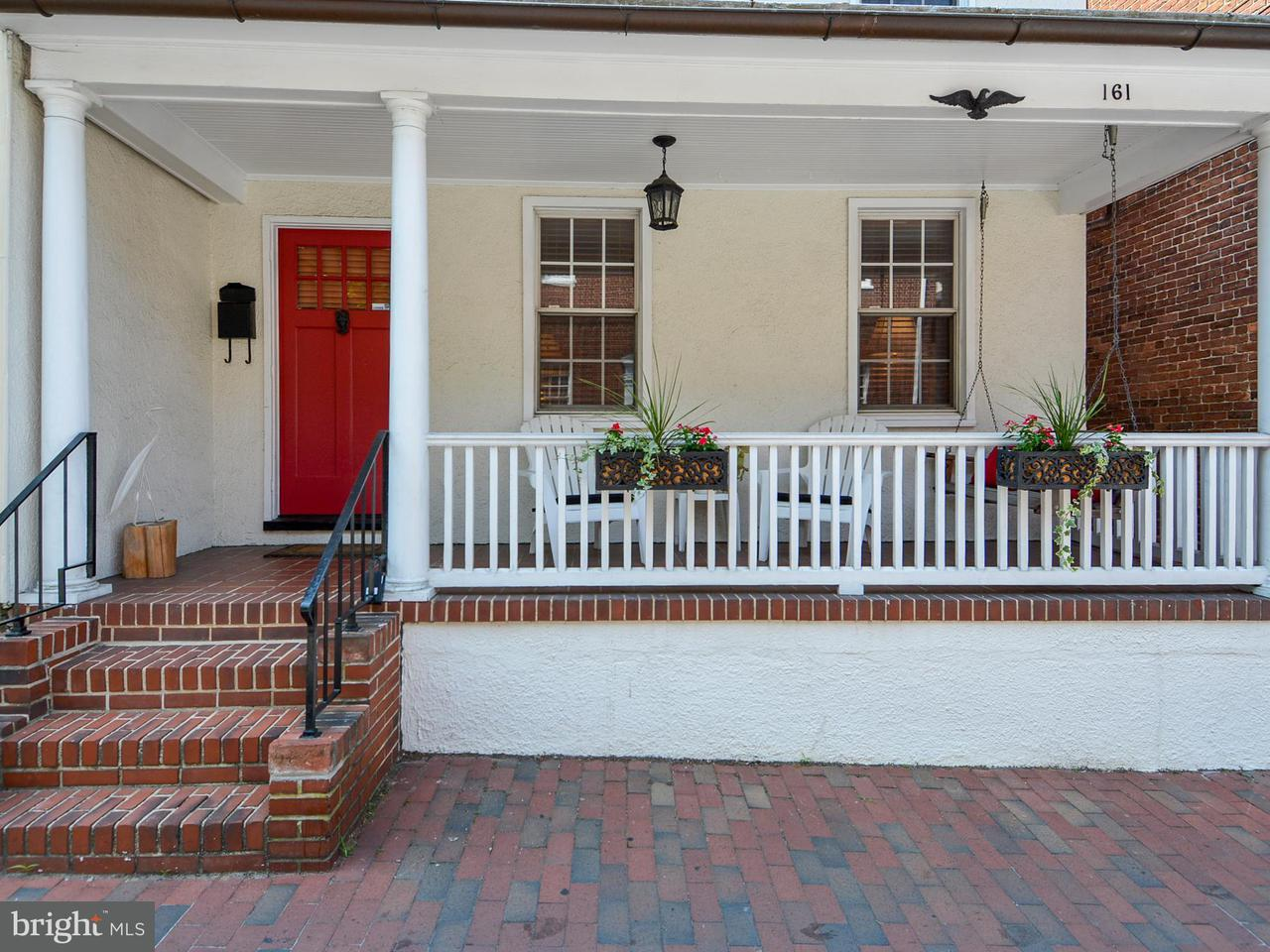 Townhouse for Sale at 161 Conduit Street 161 Conduit Street Annapolis, Maryland 21401 United States