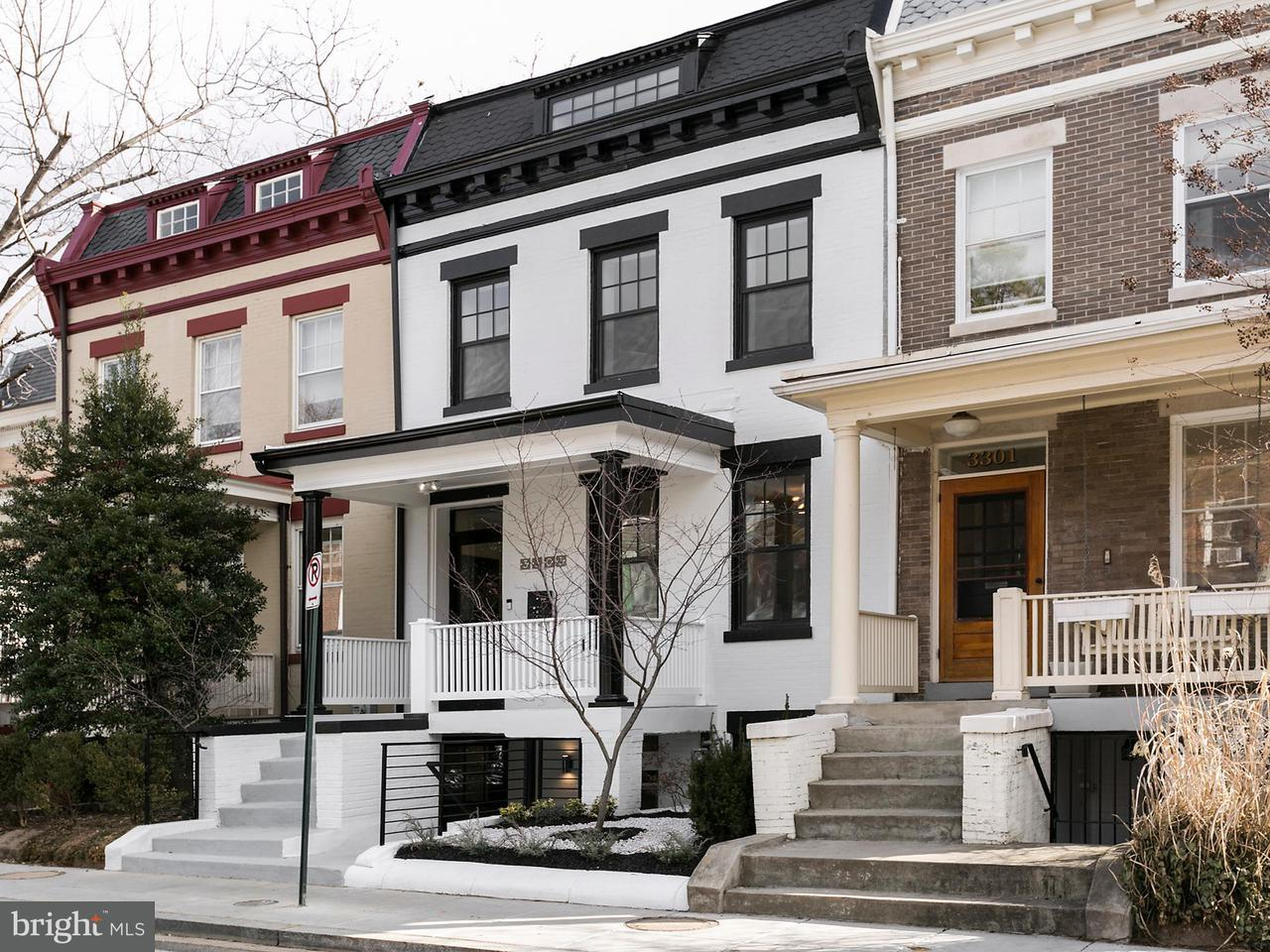 Townhouse for Sale at 3303 Brown St Nw 3303 Brown St Nw Washington, District Of Columbia 20010 United States