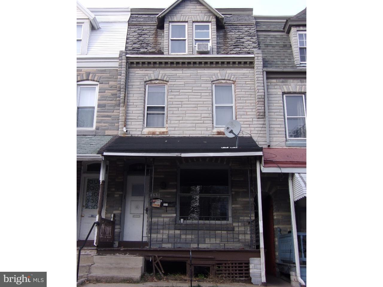 дуплекс для того Продажа на 155 W OLEY Street Reading, Пенсильвания 19601 Соединенные Штаты