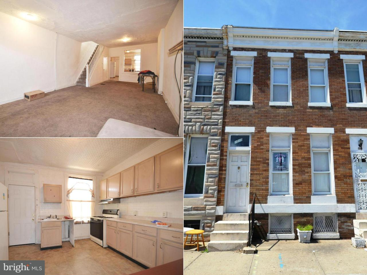 Single Family for Sale at 1010 Payson St Baltimore, Maryland 21217 United States
