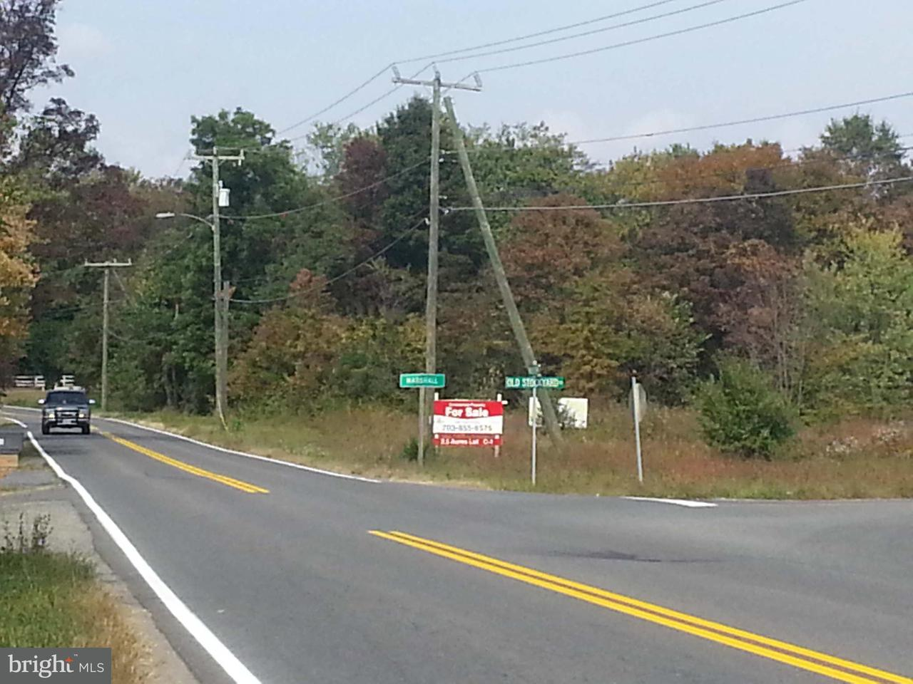 Land for Sale at Lot # 2 NE Marshall, Virginia 20115 United States
