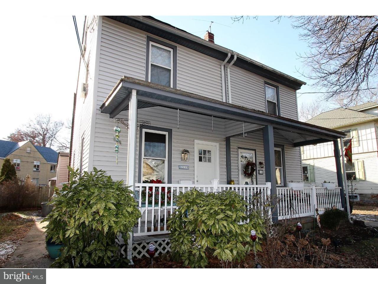 Casa unifamiliar adosada (Townhouse) por un Venta en 310 PENN Street Riverton, Nueva Jersey 08077 Estados Unidos