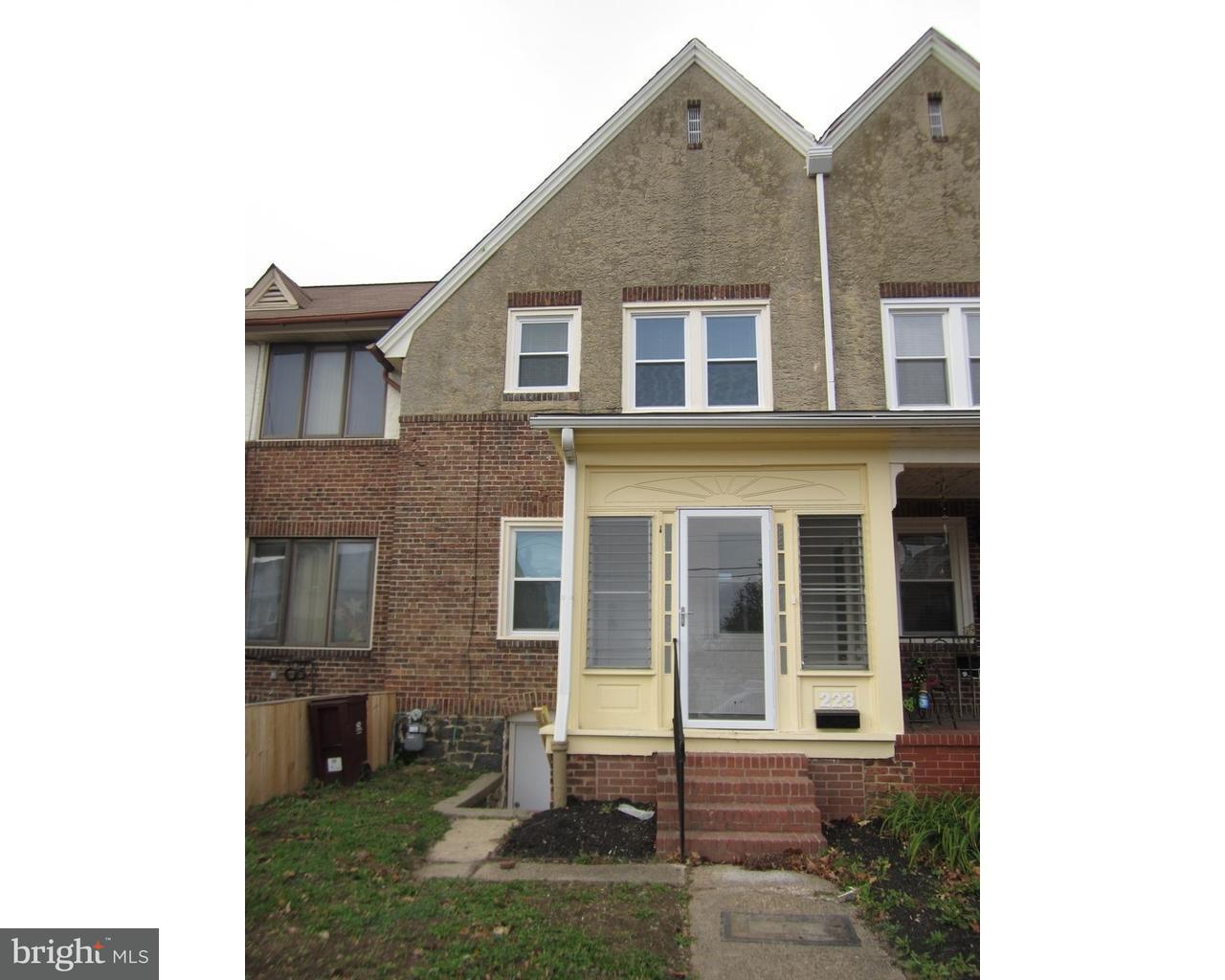 Частный односемейный дом для того Аренда на 223 S UNION Street Wilmington, Делавэр 19805 Соединенные Штаты