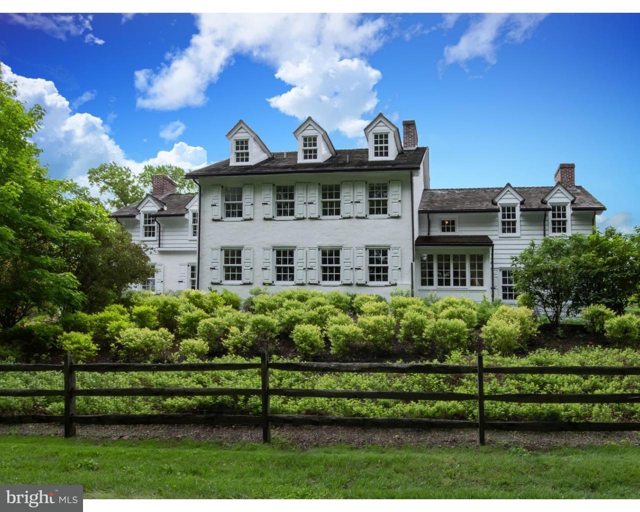 Частный односемейный дом для того Продажа на 820 FAIRVILLE Road Chadds Ford, Пенсильвания 19317 Соединенные Штаты