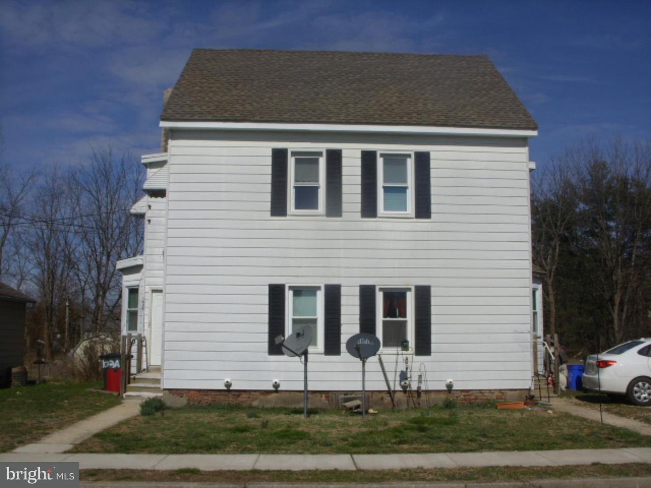 Quadraplex för Hyra vid 101-103 PARK Avenue Elmer, New Jersey 08318 Usa