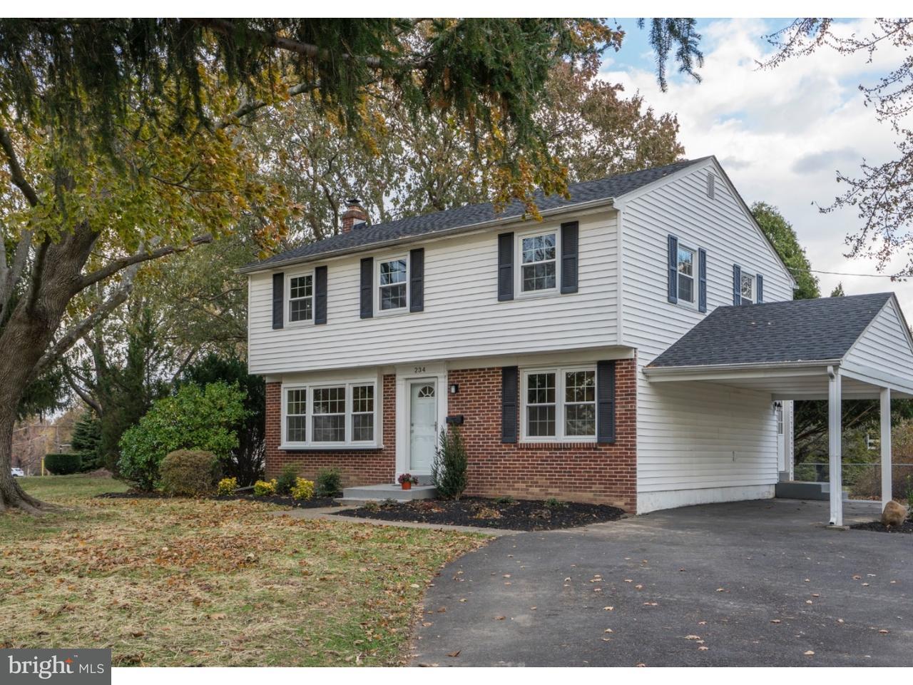 独户住宅 为 销售 在 234 CRESTVIEW Road Hatboro, 宾夕法尼亚州 19040 美国