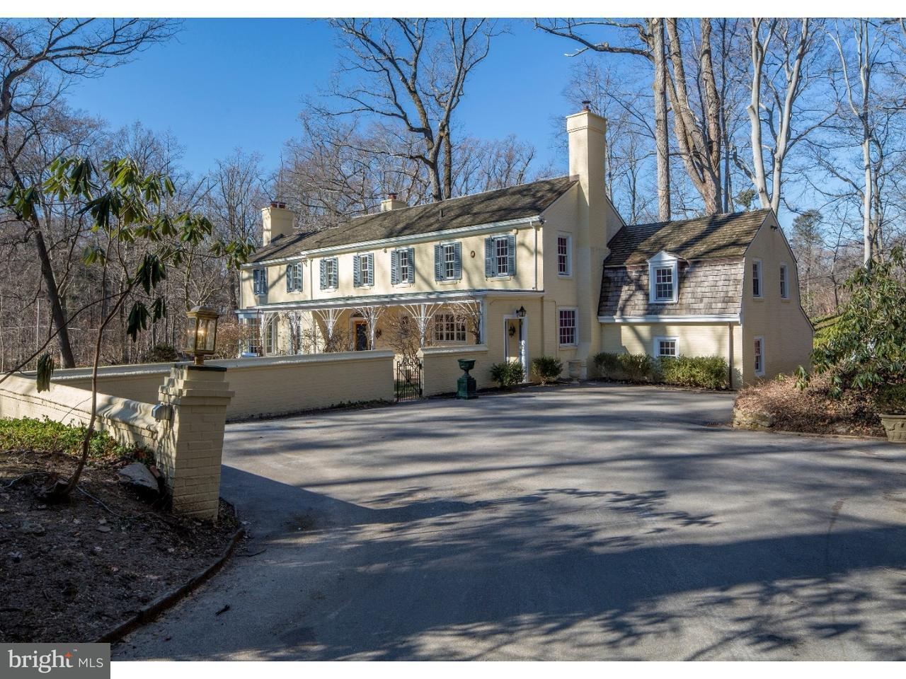 Частный односемейный дом для того Продажа на 418 GATCOMBE Lane Bryn Mawr, Пенсильвания 19010 Соединенные Штаты