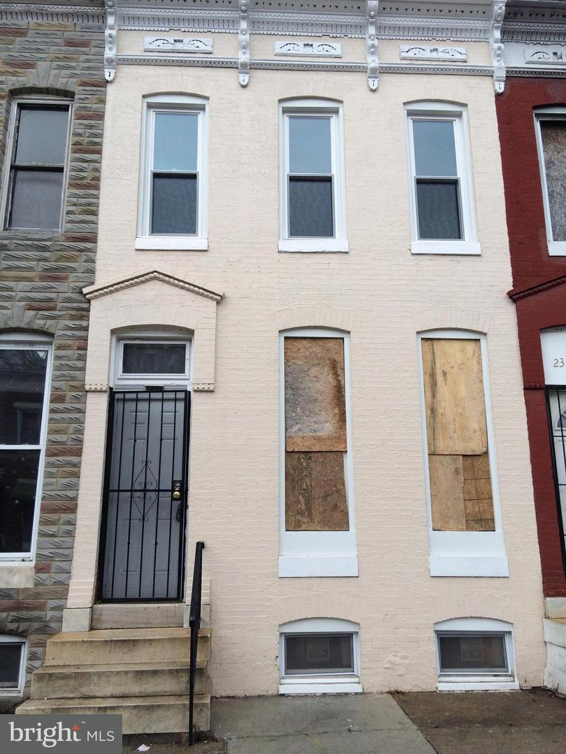 Single Family for Sale at 2336 Druid Hill Ave Baltimore, Maryland 21217 United States