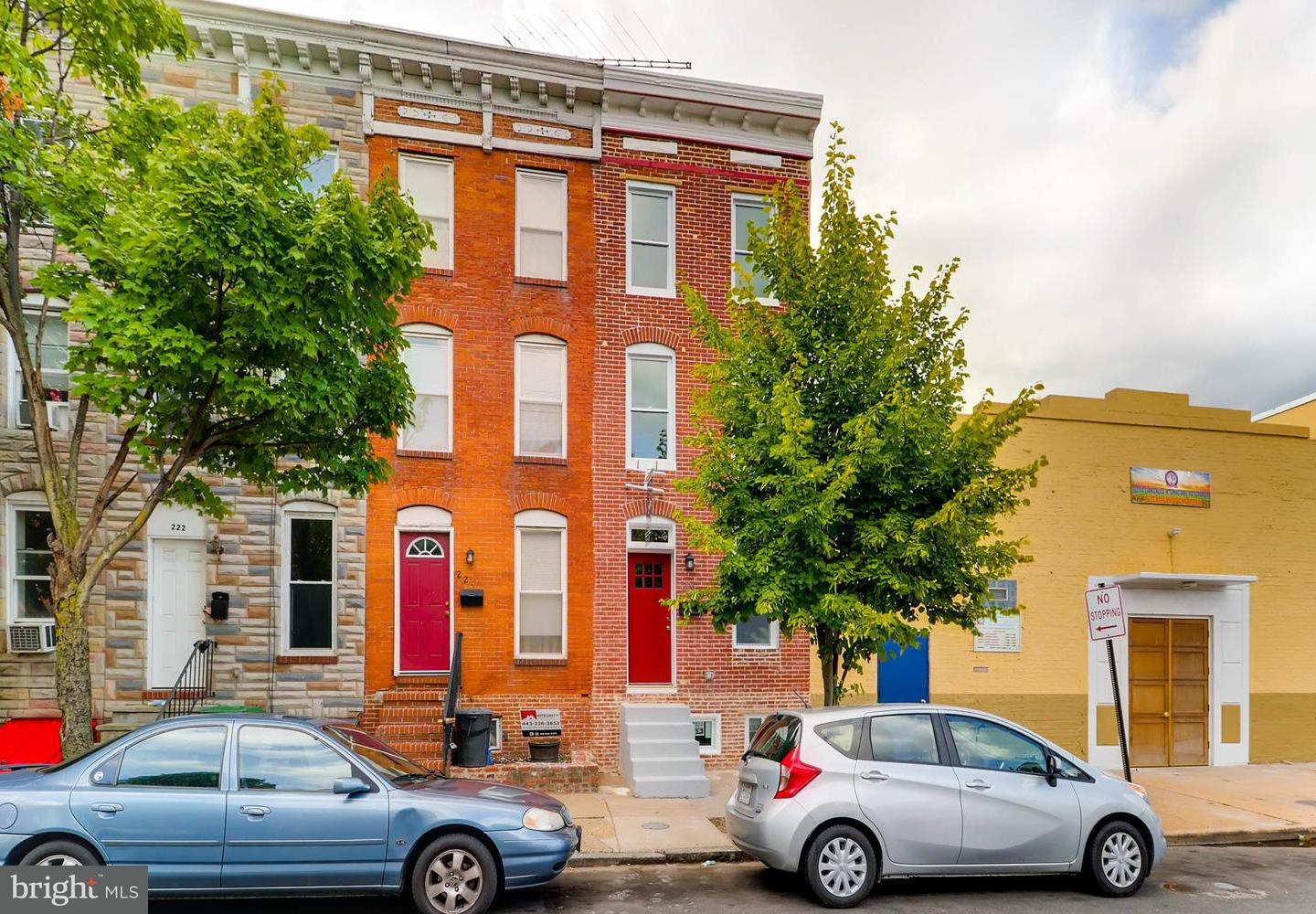 Single Family for Sale at 226 Montford Ave Baltimore, Maryland 21224 United States