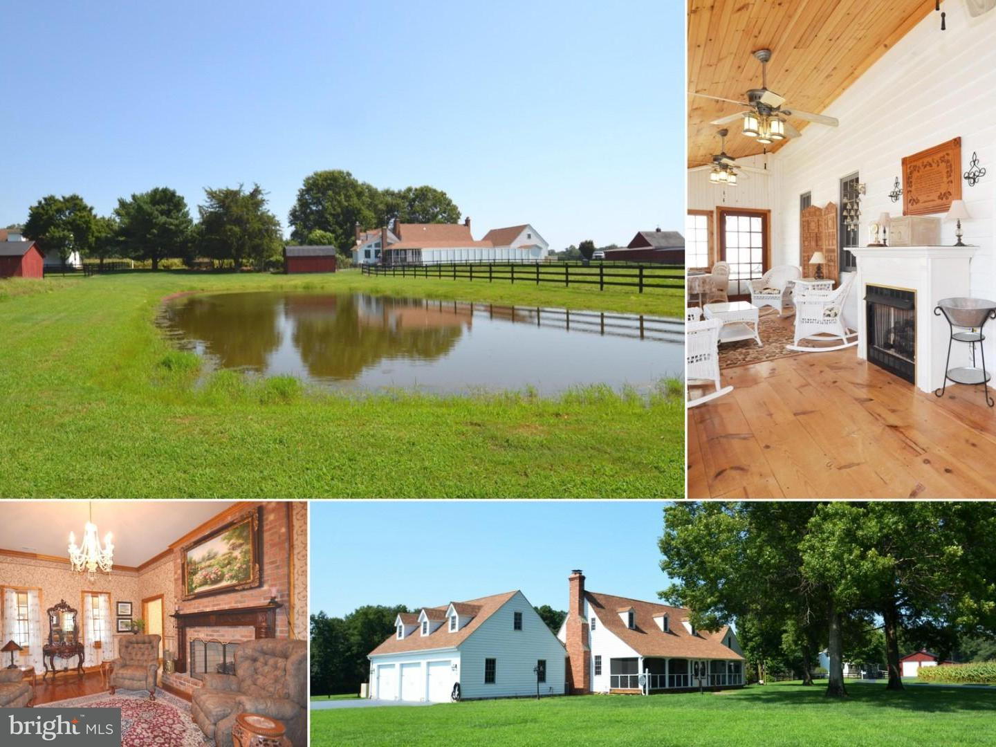 Farm for Sale at 21730 Oscar Hayden Rd Bushwood, Maryland 20618 United States