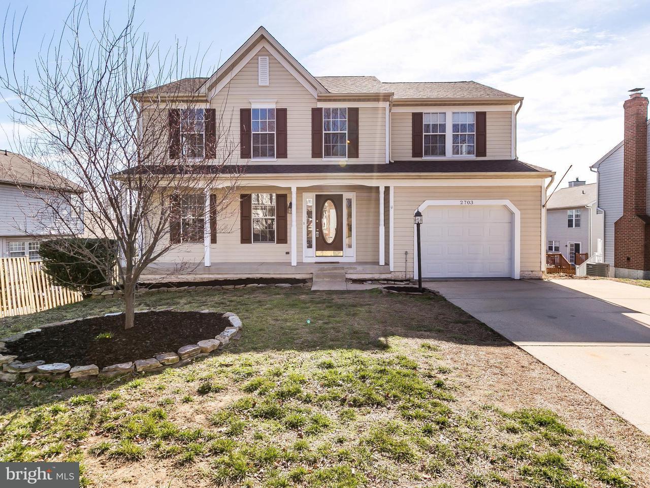 Eensgezinswoning voor Verkoop een t 2703 Price Road 2703 Price Road Crofton, Maryland 21114 Verenigde Staten