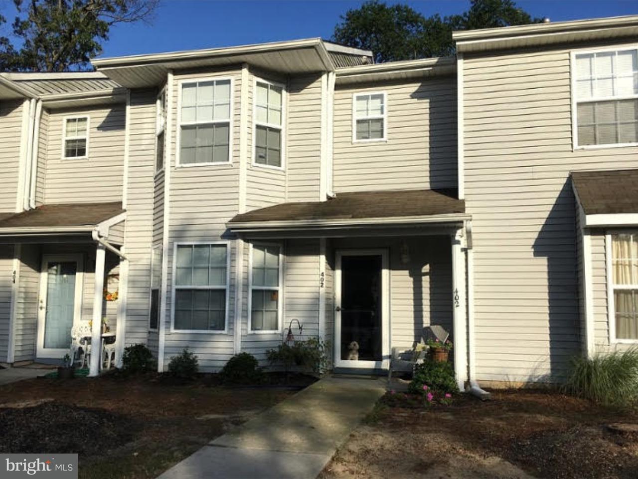 Casa unifamiliar adosada (Townhouse) por un Venta en 402 ACCOLON Court Mantua, Nueva Jersey 08051 Estados Unidos
