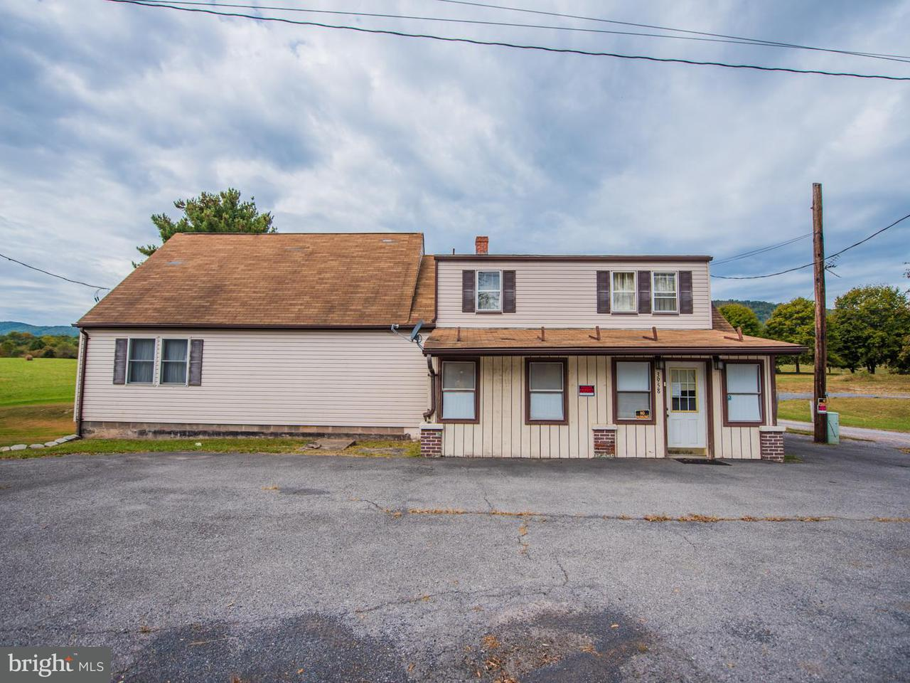 Single Family for Sale at 3958 Pawpaw Rd Paw Paw, West Virginia 25434 United States
