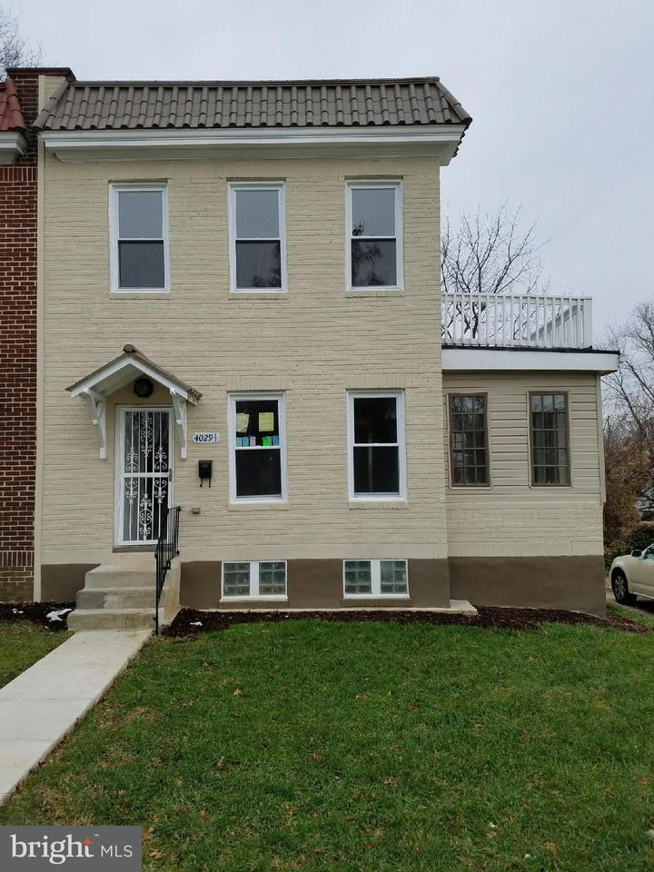 Single Family for Sale at 4029 Boarman Ave #1/2 Baltimore, Maryland 21216 United States