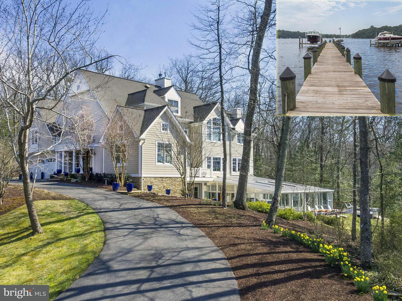 獨棟家庭住宅 為 出售 在 519 Scrimshaw Lane 519 Scrimshaw Lane Severna Park, 馬里蘭州 21146 美國