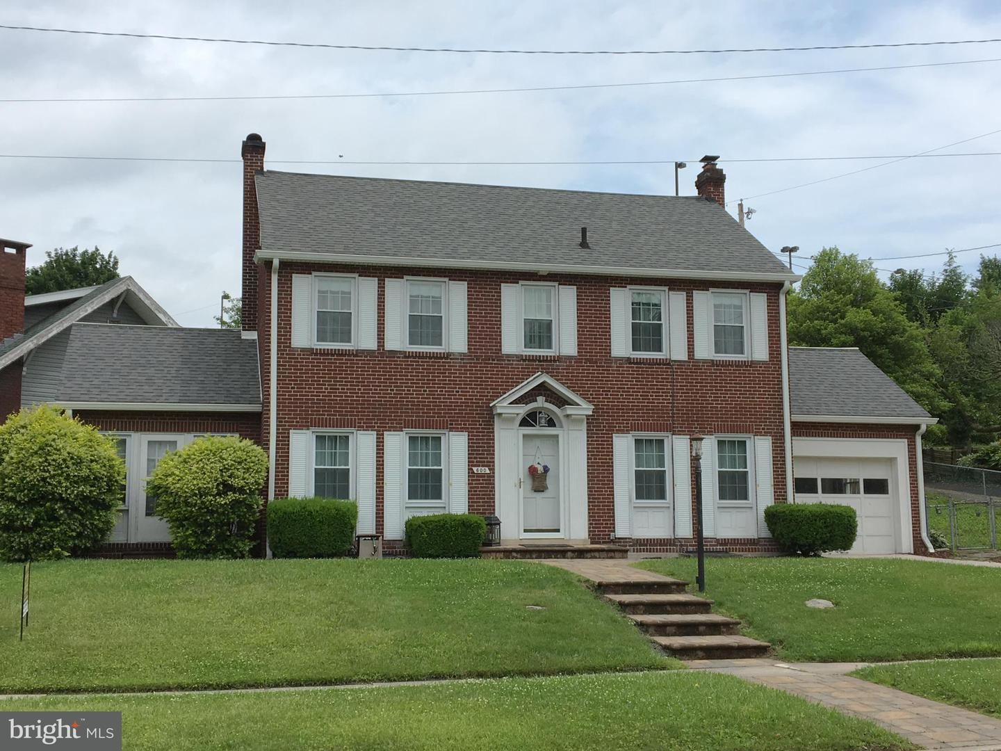 Single Family for Sale at 600 Kent Ave Cumberland, Maryland 21502 United States