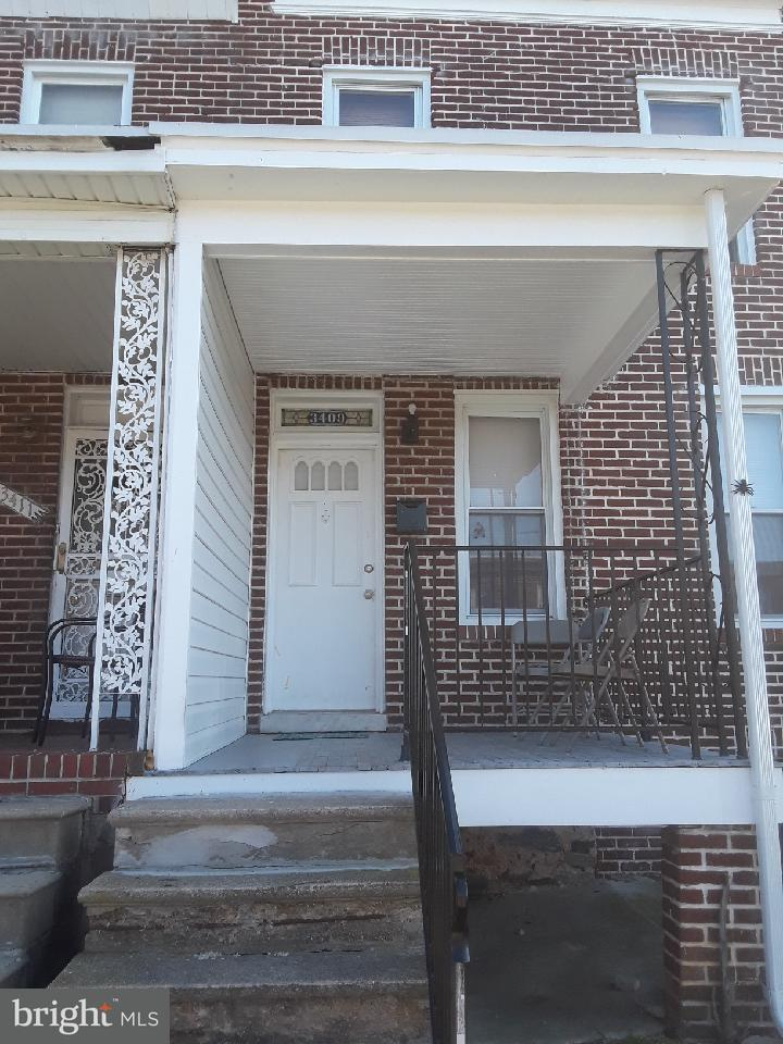Single Family for Sale at 3409 Elmora Ave Baltimore, Maryland 21213 United States