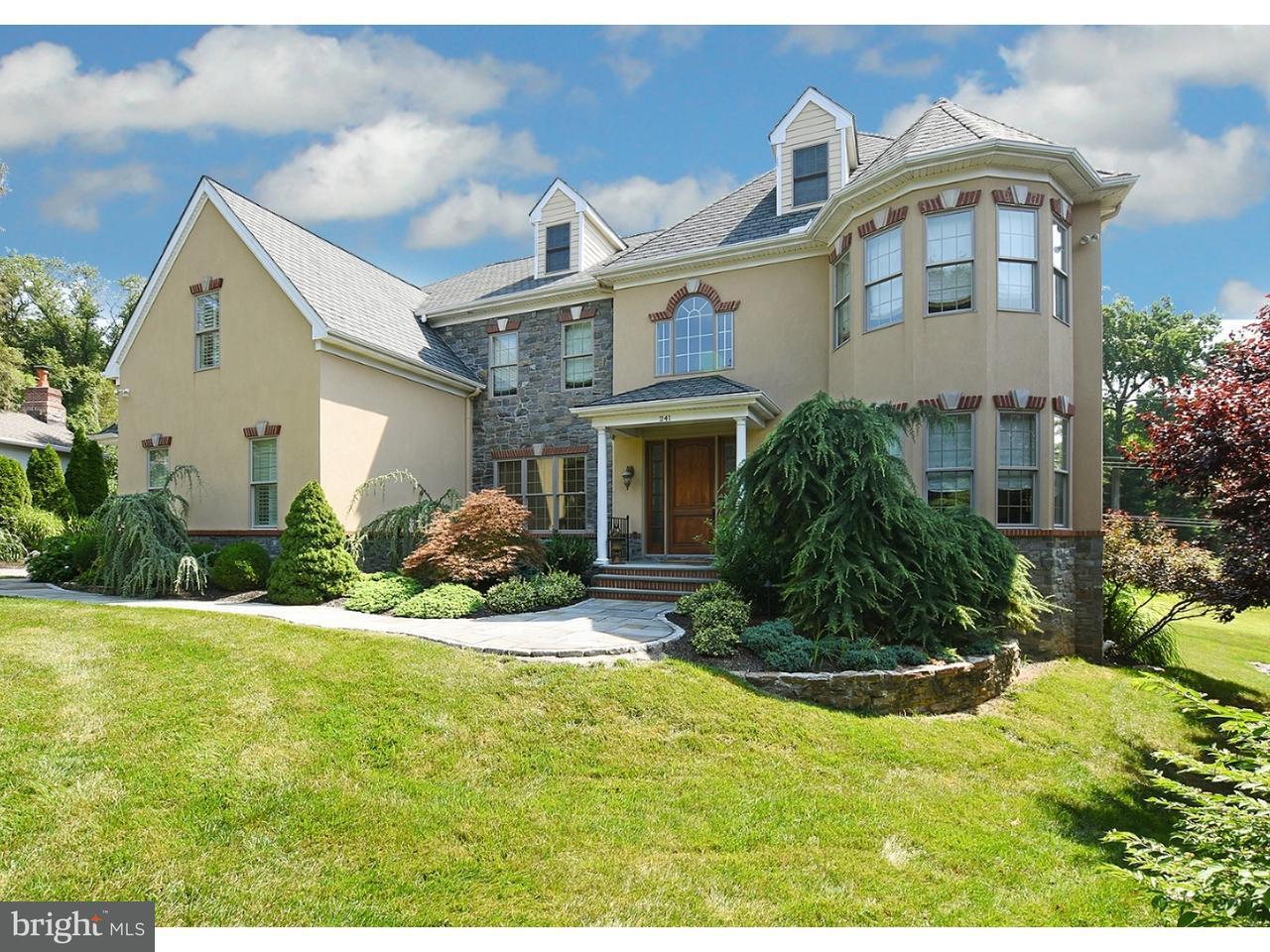 Частный односемейный дом для того Продажа на 241 STACEY Road Penn Valley, Пенсильвания 19072 Соединенные Штаты