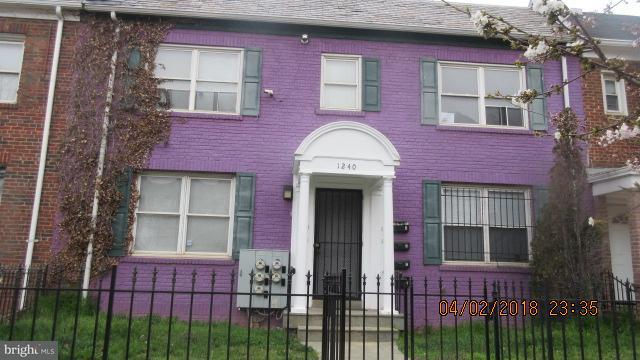 Single Family for Sale at 1240 18th St NE #4 Washington, District Of Columbia 20002 United States