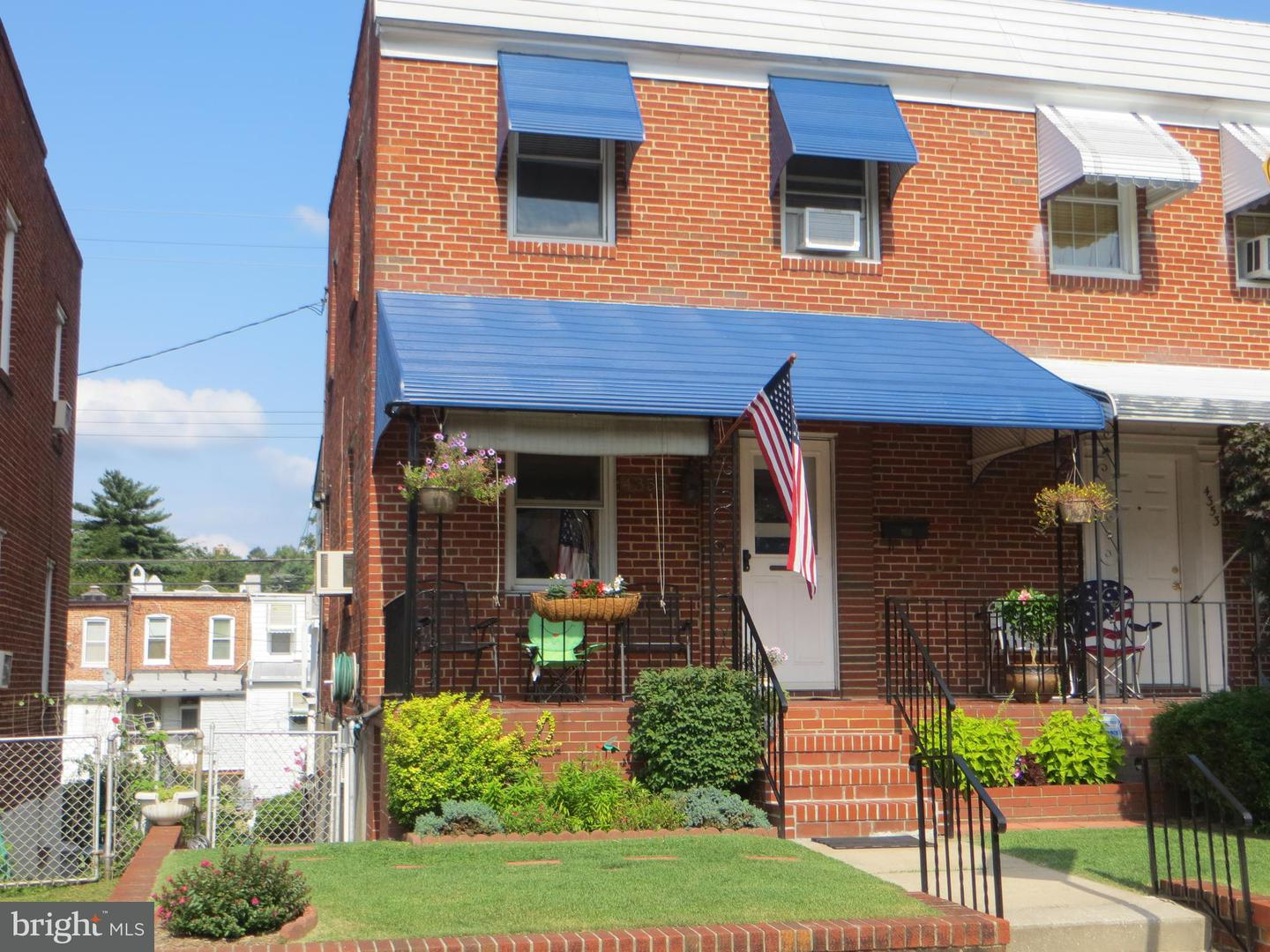 Single Family for Sale at 4355 Newport Ave Baltimore, Maryland 21211 United States