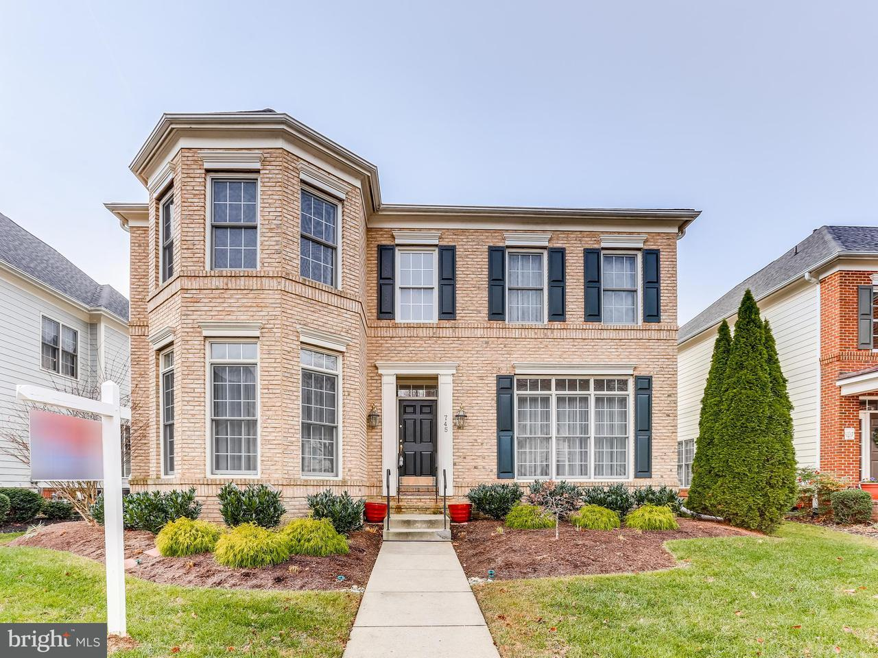 Single Family Home for Sale at 745 Pearson Point Place 745 Pearson Point Place Annapolis, Maryland 21401 United States