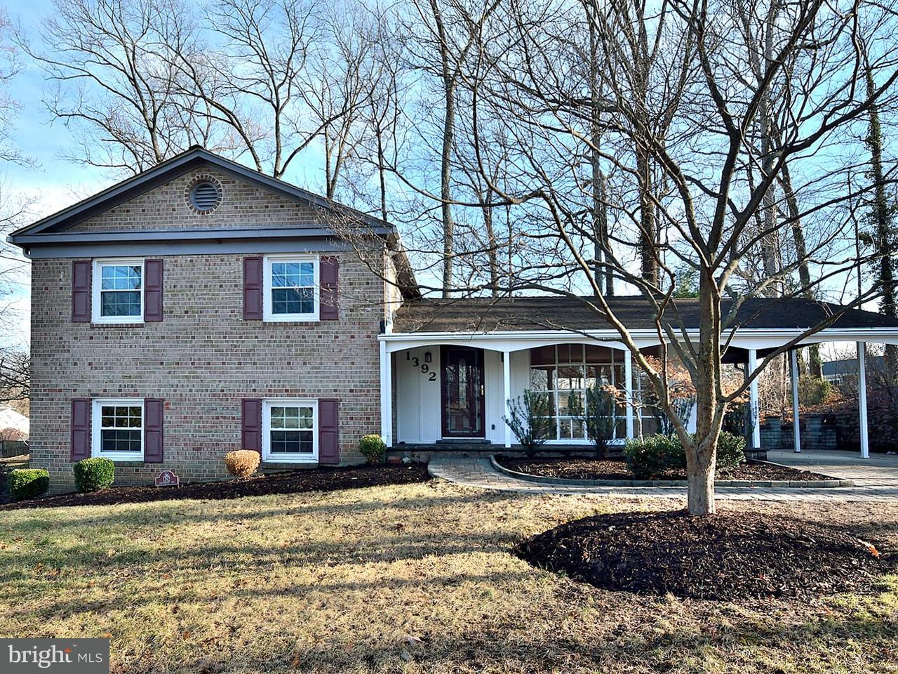 Single Family Home for Sale at 1392 Canterbury Way 1392 Canterbury Way Rockville, Maryland 20854 United States